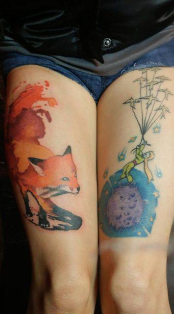 Wolf Tattoo Designs For Woman Tattoomenu