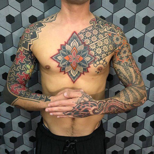 Mandala Tattoos For Men